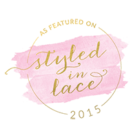 featured on styled in lace