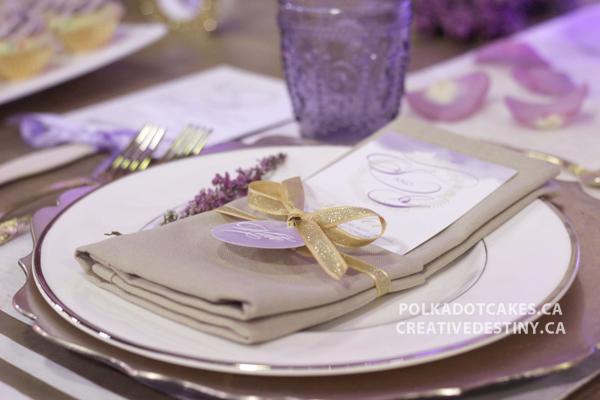 purple and gold wedding inspiration, purple and gold invitations, purple and gold wedding cake, stationery and cake, halifax wedding vendors, indie wedding show,