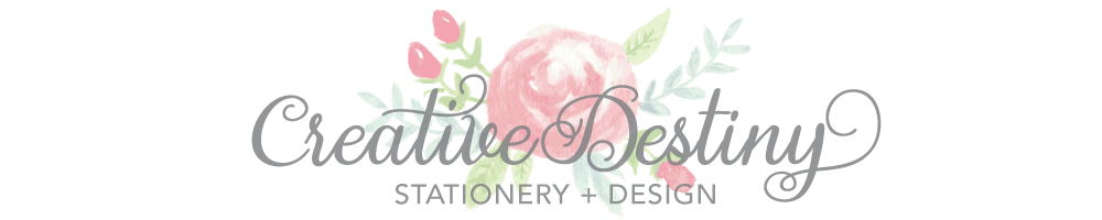 A Creative Destiny - Custom Stationery + Design