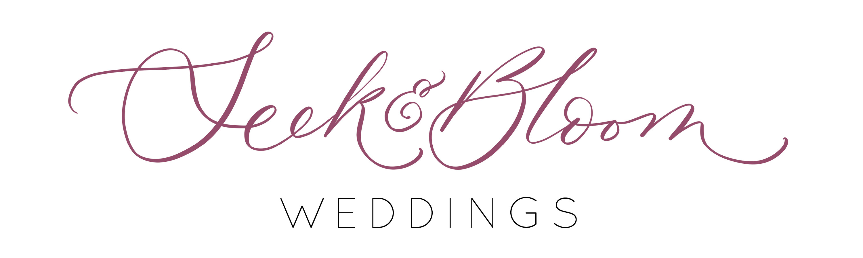 Seek and Bloom Creative Co. Weddings